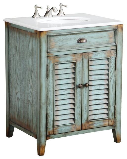 "26"" Cottage Look Abbeville Bathroom Sink Vanity"