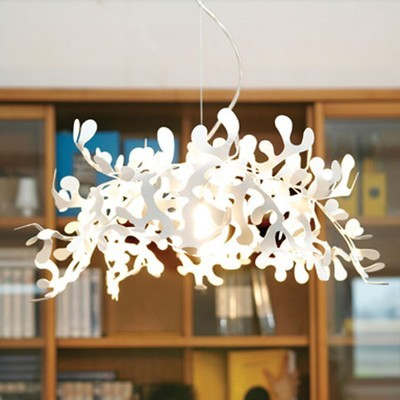 Leaves Sus by Lumen Center eclectic-chandeliers