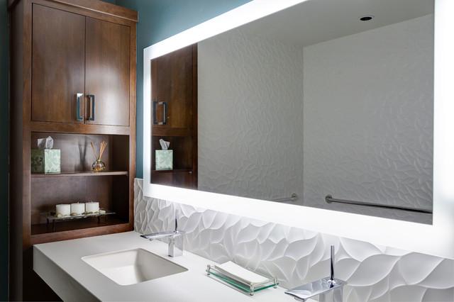 showroom bathroom display contemporary bathroom chicago by