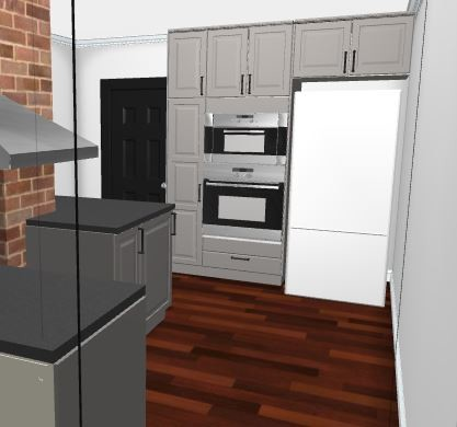 Wall Oven Next To Fridge or Not To Wall Oven Next To Fridge