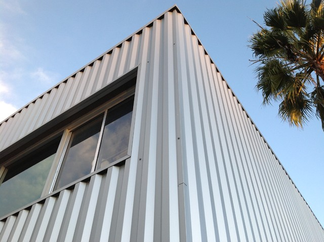 Metal siding for Vertical steel siding