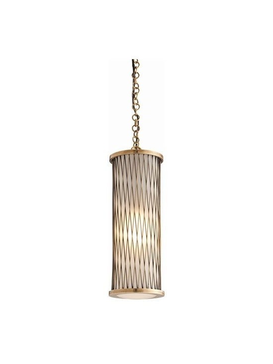 Arteriors Optic Cast Brass/Glass Pendant - Optic Cast Brass/Glass Pendant
