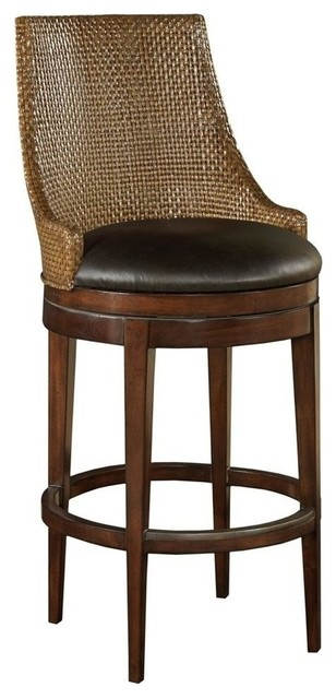 New Counter Stool Brown/Beige/Tan traditional-bar-stools-and-counter-stools
