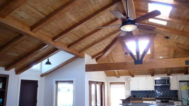 Stickley Design and Build.  Craftsman Style Home in Santa Barbara. craftsman