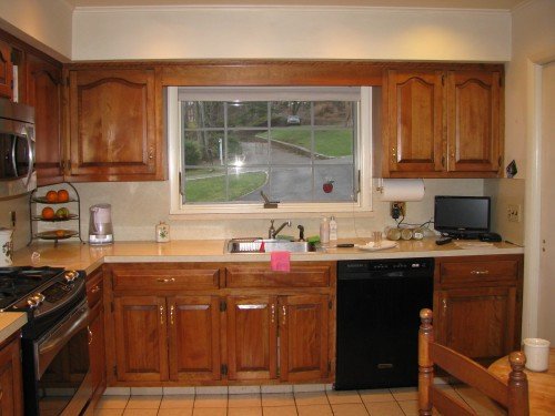 The bulkhead over the kitchen cabinets as well as a for Bulkhead over kitchen cabinets