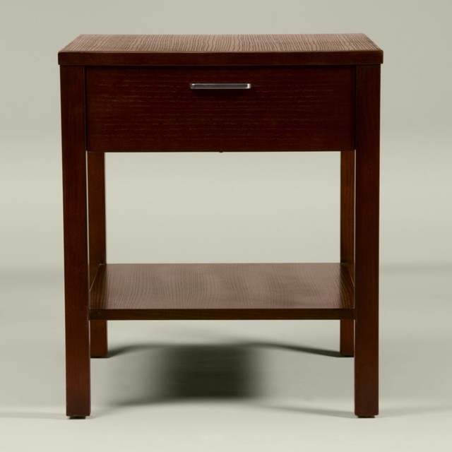 horizons studio erick end table - Traditional - Nightstands And Bedside Tables - by Ethan Allen