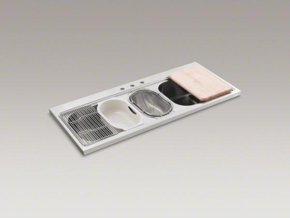 Flush Kitchen Sink : All Products / Kitchen / Kitchen Fixtures / Kitchen Sinks