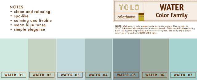 YOLO Colorhouse WATER Family  paints stains and glazes