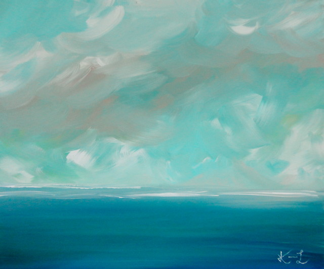 Landscapes and seascapes tropical artwork