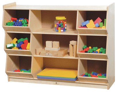 Bin Storage Unit Contemporary Toy Organizers By