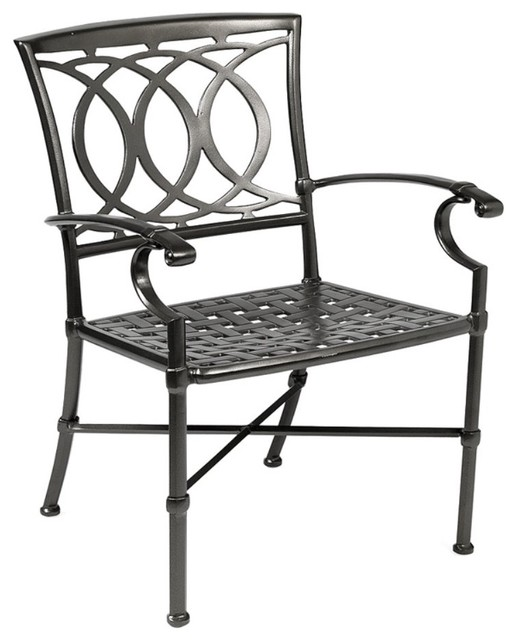 winston marseille cast aluminum dining chair modern patio furniture and outdoor furniture. Black Bedroom Furniture Sets. Home Design Ideas