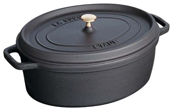 Staub Oval Cocotte (12 Quarts) - Staub Enameled Cast Iron Cookware dutch-ovens
