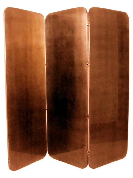 Copper leaf screen -