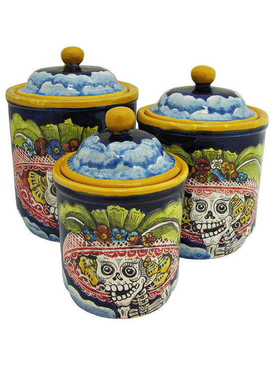 Mexican Home Accents - Majolica Day of the Dead -