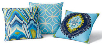 Outdoor Pillows by Trina Turk eclectic outdoor pillows