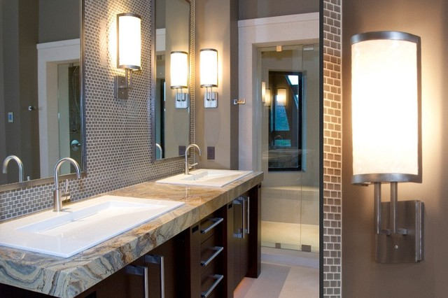 Custom - contemporary - bathroom lighting and vanity lighting ...