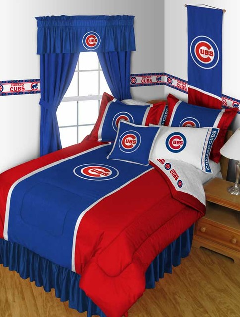Mlb chicago cubs bedding and room decorations for Rooms for kids chicago