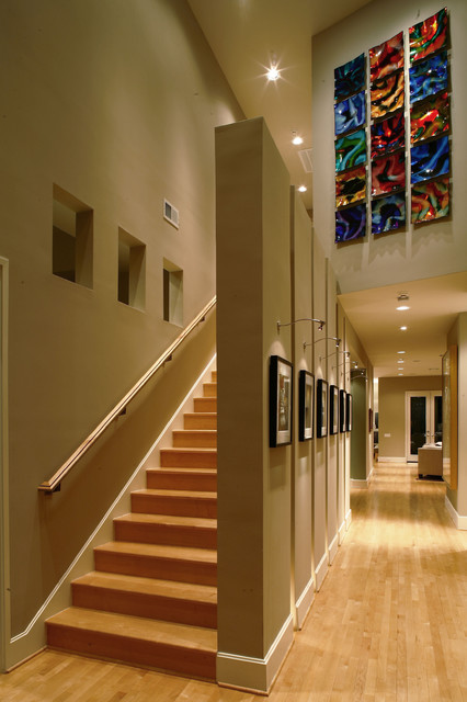 Hillin-Guilbeau Residence contemporary-hall
