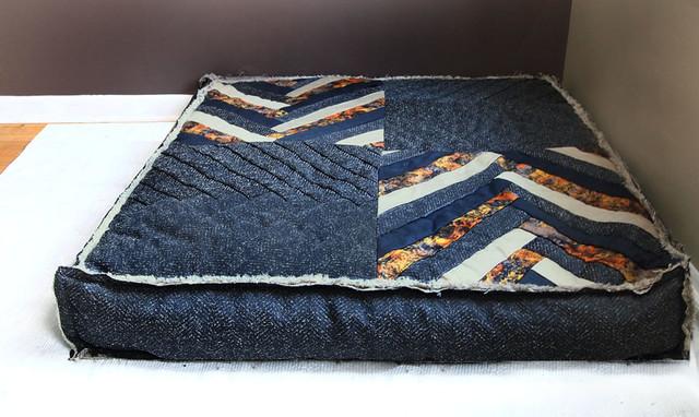 Custom Organic Buckwheat Oversized Floor Cushion