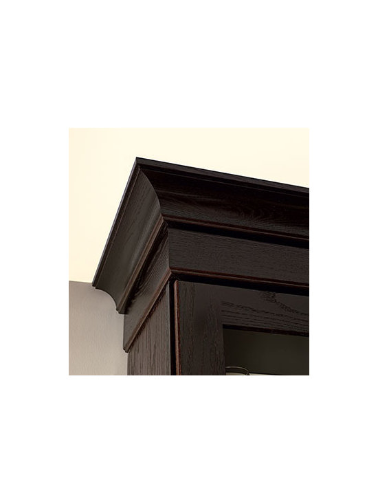 Contemporary Crown Molding - Crown Molding helps accentuate the style of a kitchen or bath, and gives any structure a stronger, furniture-like appearance.