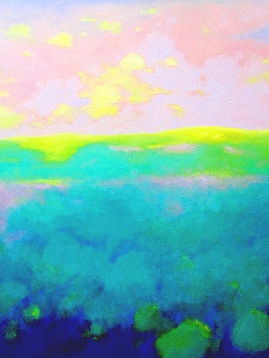 Luminous Landscapes / Layers III 36x36 -