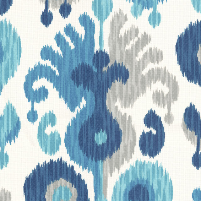Indian Summer in River outdoor-fabric