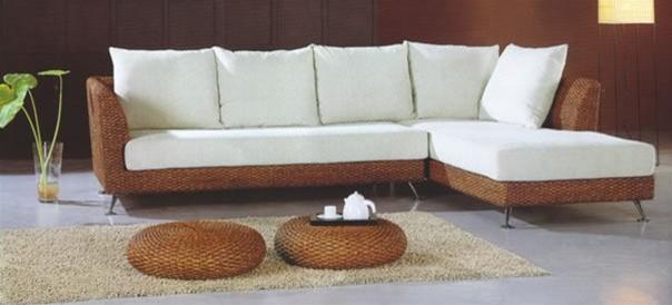 Nari rattan sectional sofa r1025 modern sectional for Modern rattan sofa