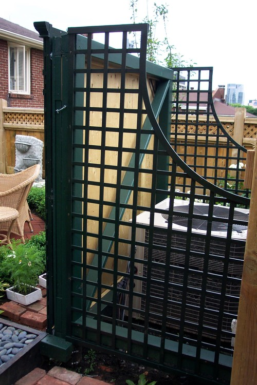 Cool Ways to Hide the Air Conditioner in Your Yard