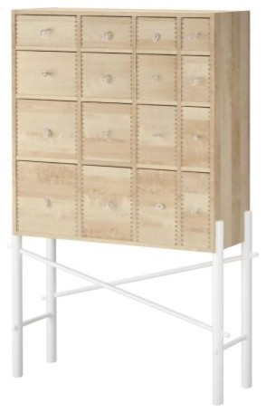 IKEA PS SINKA Cabinet with drawers - Scandinavian ...