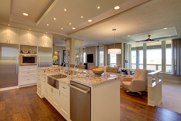 A Modern Family Home in Omaha - transitional - kitchen - other