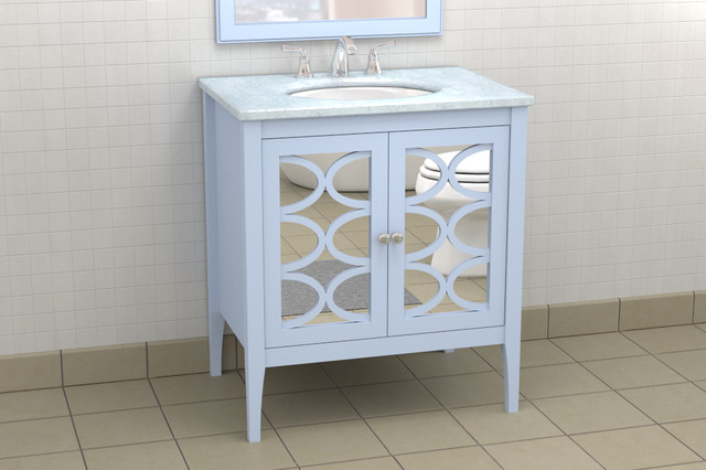 Stephen bathroom modern bathroom atlanta by the furniture guild for Furniture guild bathroom vanities