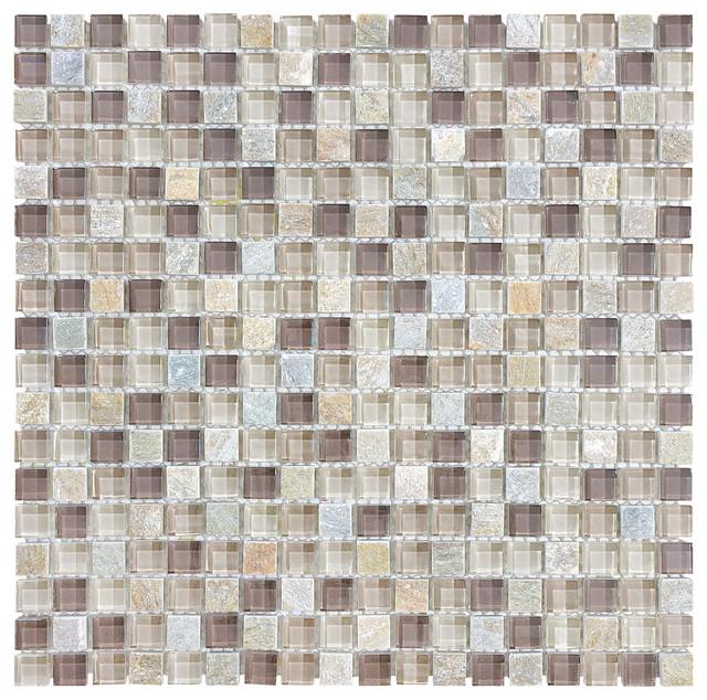 Glass & Stone Mosaic tile