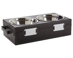 Pet Bowl Holder contemporary-pet-supplies
