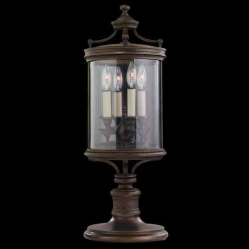 Louvre No. 559483 Pier Mount by Fine Art Lamps traditional-outdoor-lighting