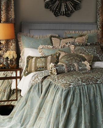 """Isabella Collection by Kathy Fielder Queen Coverlet, 60"""" x 80"""" with 30"""" Drop traditional-quilts"""