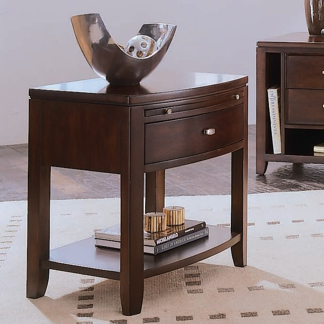 Tribecca Leg Nightstand traditional-nightstands-and-bedside-tables