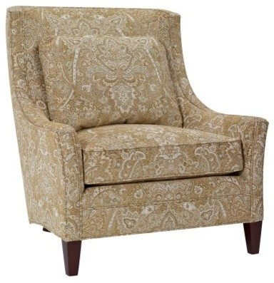 Park Manor Ankor Chair - Bisque modern-living-room-chairs
