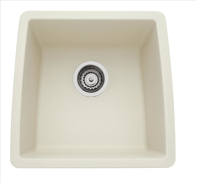 BLANCO 440080 Performa Silgranit II Biscuit Kitchen Sink - Traditional ...