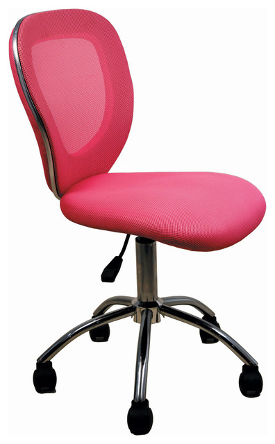 office chair in pink modern task chairs atlanta mesh back office chair
