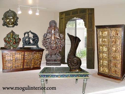 Home Decor Sculpture From India Asian Garden Statues And Yard Art Other Metro By