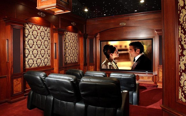 Client Photos traditional-home-theater