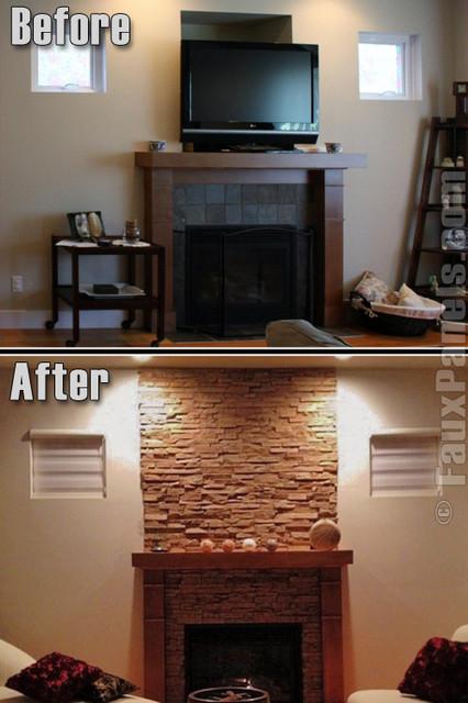 Fireplace Design Concepts contemporary