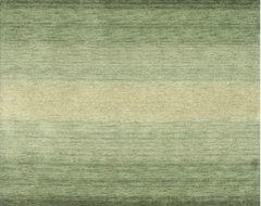 Majestic Green Rug modern-rugs