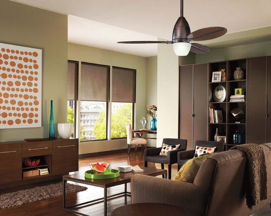 Ceiling Fans - The Riggs Ceiling Fan Collection from Kichler