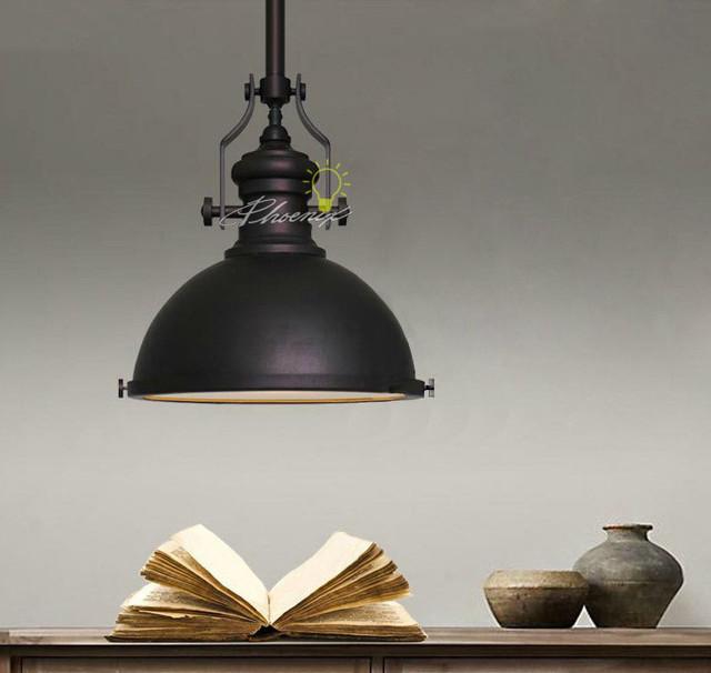 Loft Black Industry Pendant Lighting Contemporary