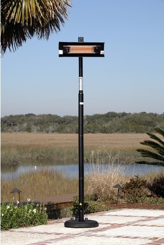 Straight Pole Mounted Electric Patio Heater modern-outdoor-products