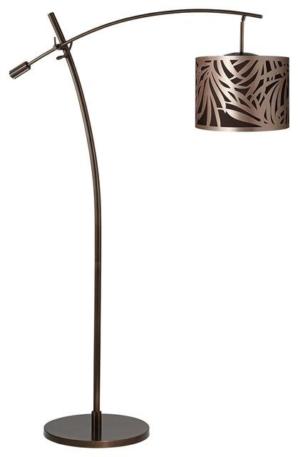 arm arc floor lamp contemporary floor lamps by lamps plus. Black Bedroom Furniture Sets. Home Design Ideas