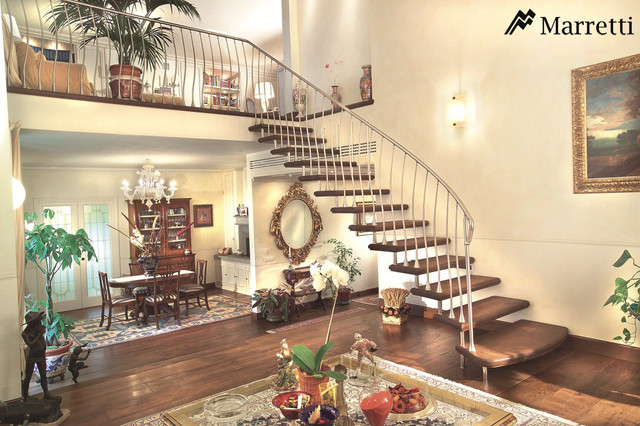Marretti Stairs traditional-family-room