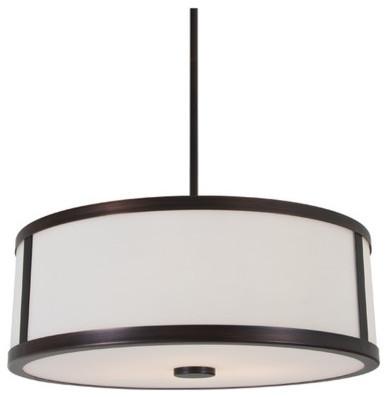 Uptown 3 Light Pendant modern-pendant-lighting