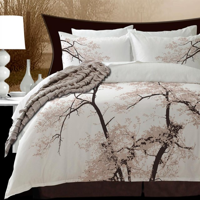 Cherry Blossom Bed Spread King